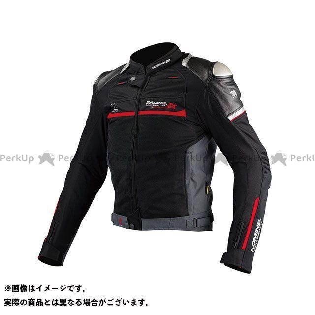 KOMINE ジャケット JJ-001 チタニウムメッシュジャケット(ブラック) L コミネ