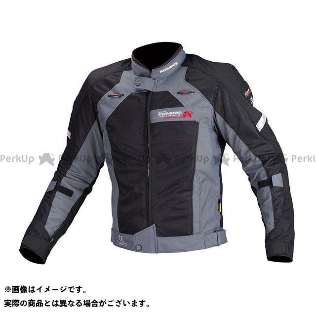 【特価品】KOMINE ジャケット JJ-002 エアストリームメッシュジャケット(ブラック) サイズ:M コミネ