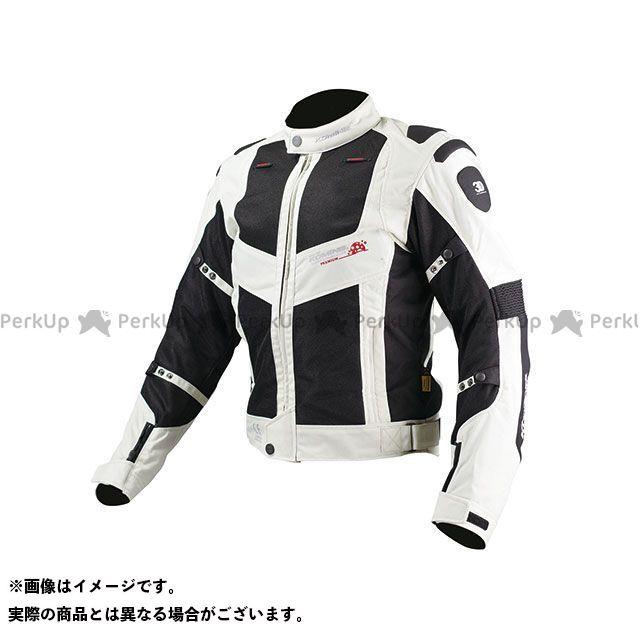【特価品】KOMINE ジャケット JJ-003 ツアラーメッシュジャケット(ブラック/シルバー) サイズ:L コミネ