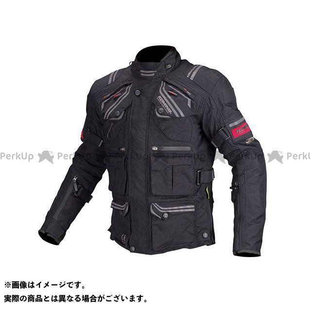 KOMINE ジャケット JK-593 プロテクトフルイヤーツーリングジャケット(ブラック) サイズ:XL コミネ