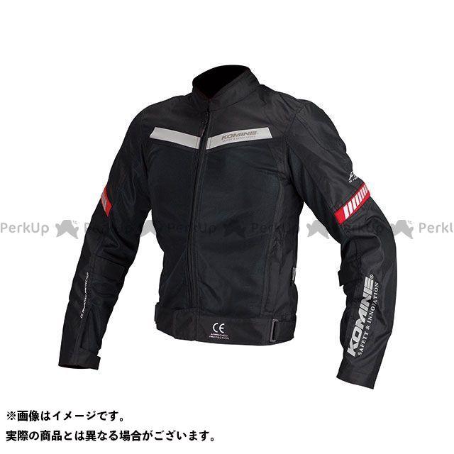 KOMINE ジャケット JK-127 プロテクトハーフメッシュジャケット(ブラック) サイズ:M コミネ