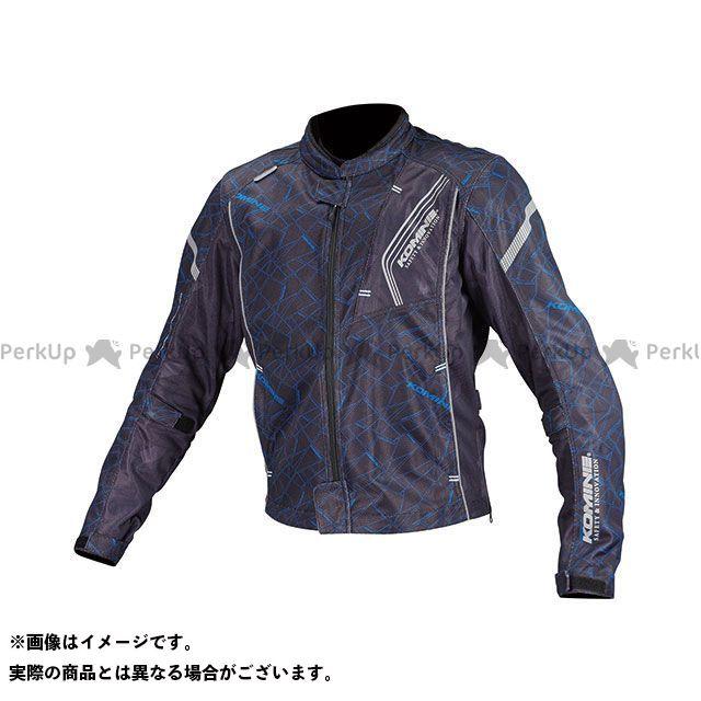 KOMINE ジャケット JK-128 プロテクトフルメッシュジャケット(クラッシュブルー/ブラック) サイズ:WM コミネ