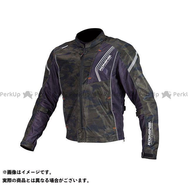 KOMINE ジャケット JK-128 プロテクトフルメッシュジャケット(カモ/ブラック) サイズ:S コミネ