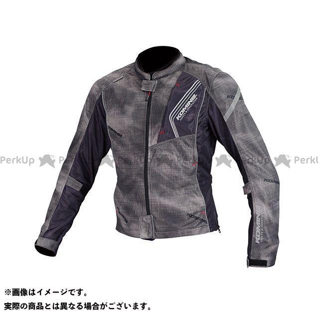 送料無料 コミネ KOMINE ジャケット JK-128 プロテクトフルメッシュジャケット(スモーク/ブラック) XL