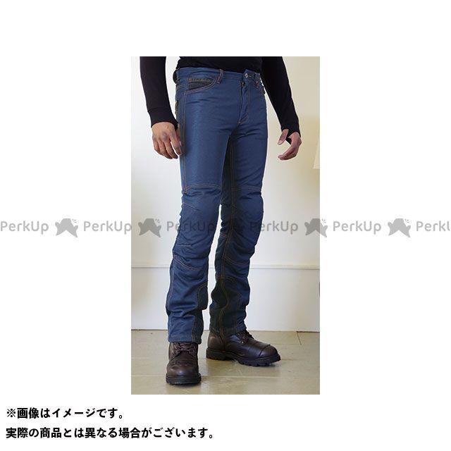 KOMINE パンツ WJ-740R ライディングメッシュジーンズ(インディゴブルー) サイズ:5XLB/46 コミネ