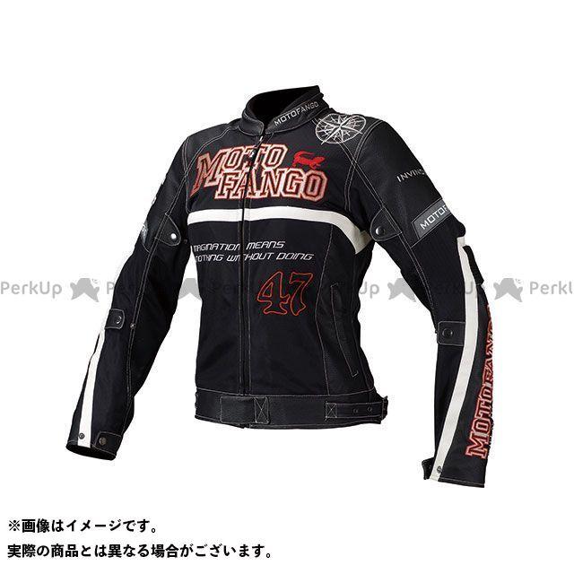 MOTOFANGO ジャケット MJ-002 プロテクトハーフメッシュジャケット(ブラック) サイズ:WM モトファンゴ