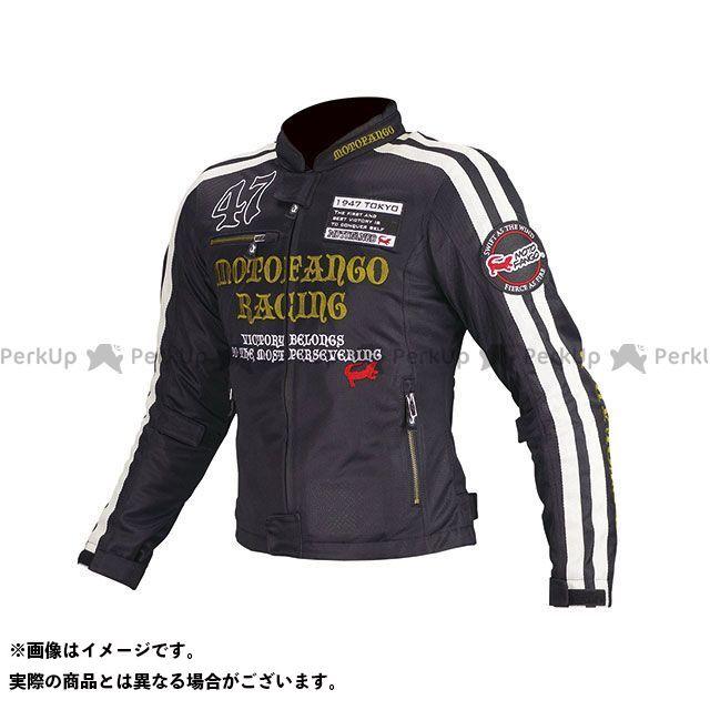 MOTOFANGO ジャケット MJ-003 ダブルラインメッシュジャケット(ブラック/ゴールド) サイズ:L モトファンゴ