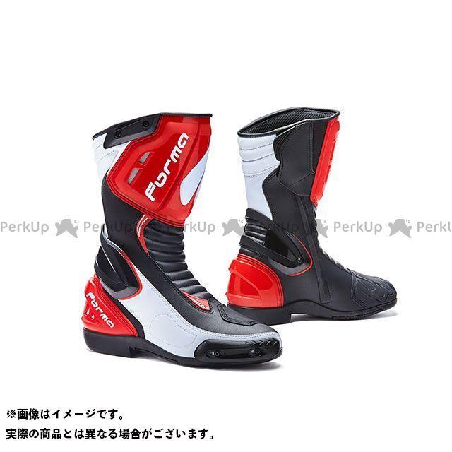 フォーマ レーシングブーツ FRECCIA(ブラック/ホワイト/レッド) サイズ:45/28.0cm FORMA