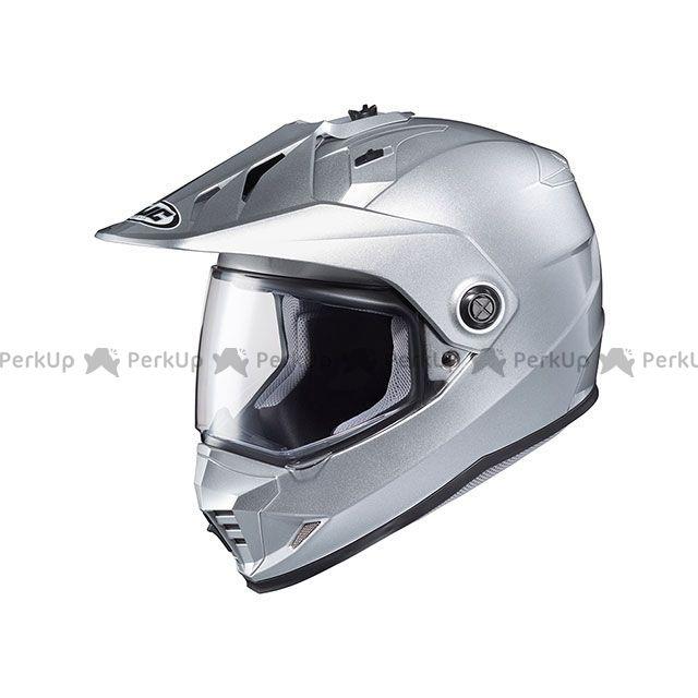 送料無料 HJC エイチジェイシー オフロードヘルメット HJH133 DS-X1 ソリッド(シルバー) L(59-60)
