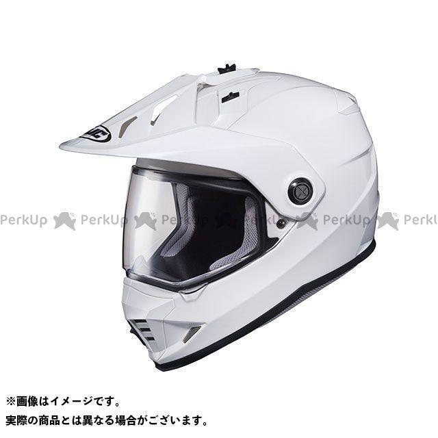 送料無料 HJC エイチジェイシー オフロードヘルメット HJH133 DS-X1 ソリッド(ホワイト) M(57-58)