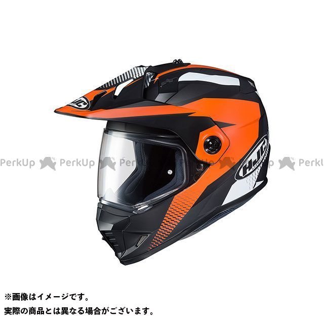 送料無料 HJC エイチジェイシー オフロードヘルメット HJH134 DS-X1 エーウィング(オレンジ) XL(61-62未満)
