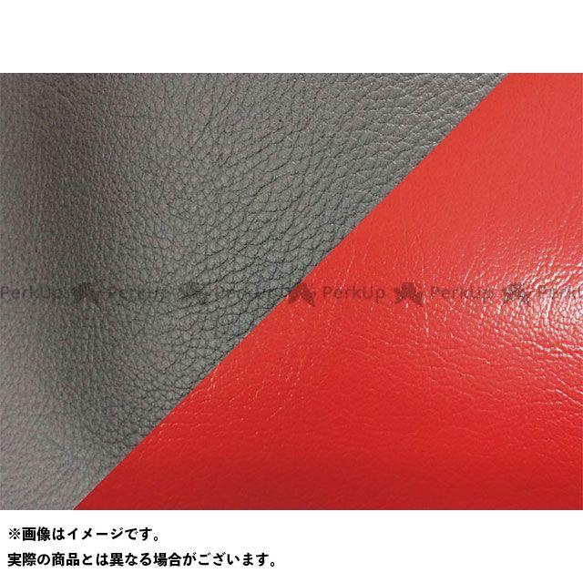 セロー225W シート張替サービス/ シート関連パーツ / (4CS) 生地色:座面黒/ セロー225 工賃・送料込/ サイド色:赤ツートン アルバ