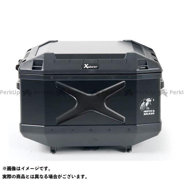 HEPCO&BECKER ツーリング用ボックス トップケース エクスプローラー Xplorer TC45 カラー:ブラック ヘプコアンドベッカー