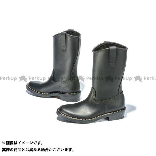 カドヤ ライディングブーツ No.4009 KA-WESTERN ブーツ(ブラック) 24.5cm KADOYA