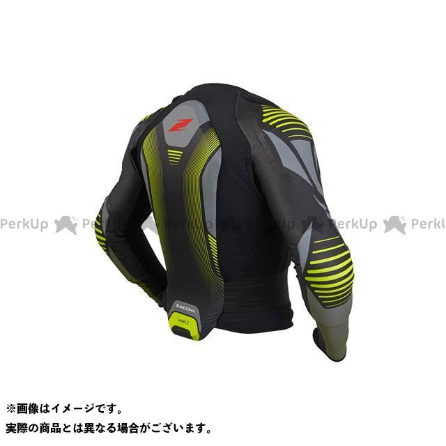 ザンドナ ボディプロテクター SOFT ACTIVE ジャケットプロ x6 5726(ブラック/ブラック) サイズ:S ZANDONA