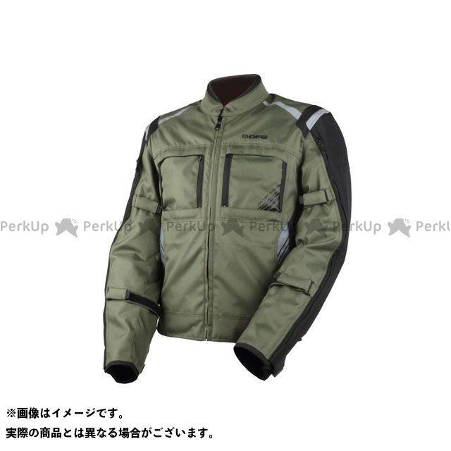 ディーエフジー ジャケット ナビゲーター クールジャケット(カーキ/ブラック) サイズ:XL DFG