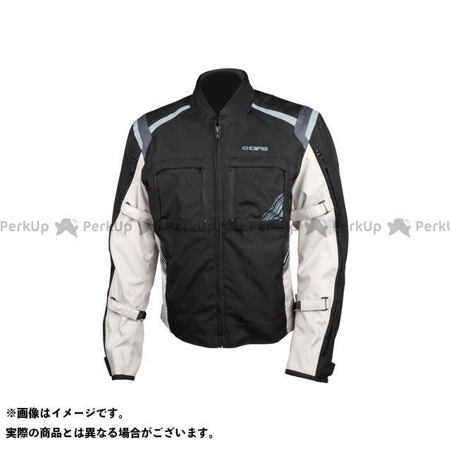 ディーエフジー ジャケット ナビゲーター クールジャケット(ブラック/シルバー) サイズ:XXL DFG