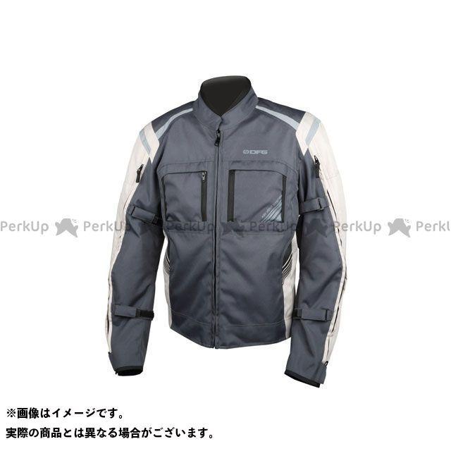 送料無料 DFG ディーエフジー ジャケット ナビゲーター クールジャケット(スチール/シルバー) XL