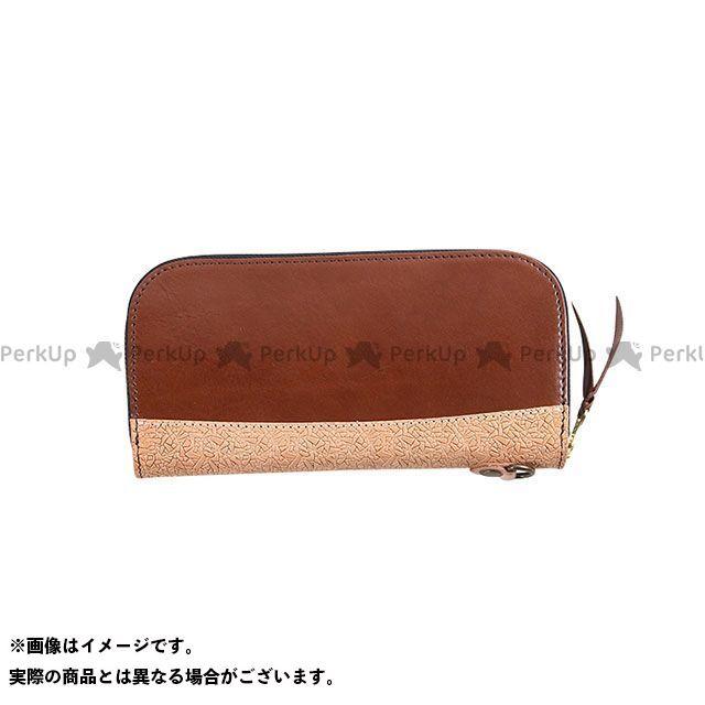 デグナー 財布 W-100 イタリアンレザー本革ロングZIPウォレット(ブラウン) DEGNER