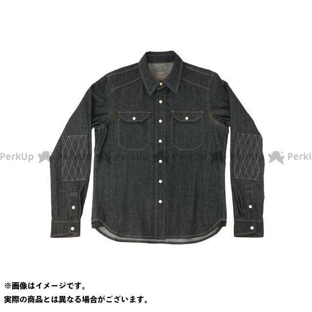 カドヤ カジュアルウェア K'S PRODUCT No.6572 RIDE WORK SHIRT2(ブラック) サイズ:M KADOYA