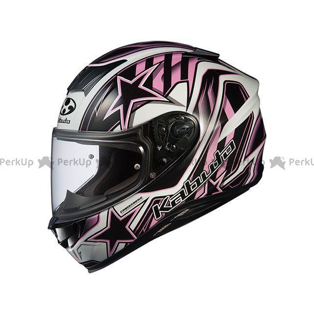 送料無料 OGK KABUTO オージーケーカブト フルフェイスヘルメット AEROBLADE-5 VISION(エアロブレード・ファイブ ヴィジョン) ブラック/ピンク S/55-56cm