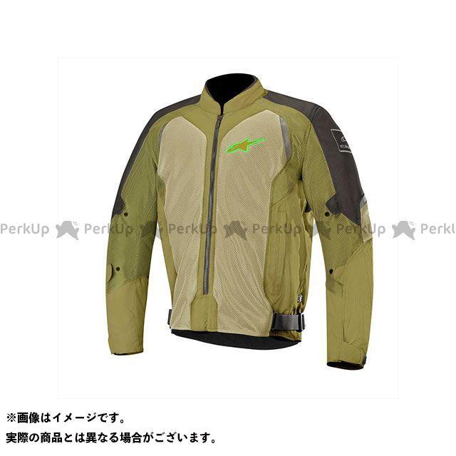 Alpinestars ジャケット ウェイク エアー ジャケット(ブラック/オリーブグリーンフロー) サイズ:S Alpinestars