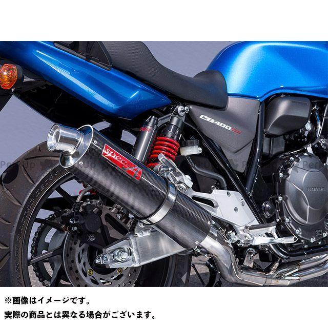 YAMAMOTO RACING CB400スーパーフォア(CB400SF) マフラー本体 18~CB400SF SPEC-A チタン4-1カーボン ヤマモトレーシング