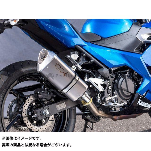 【エントリーで最大P23倍】YAMAMOTO RACING ニンジャ250 マフラー本体 18~Ninja250 SPEC-A SLIP-ON TYPE-SA ヤマモトレーシング