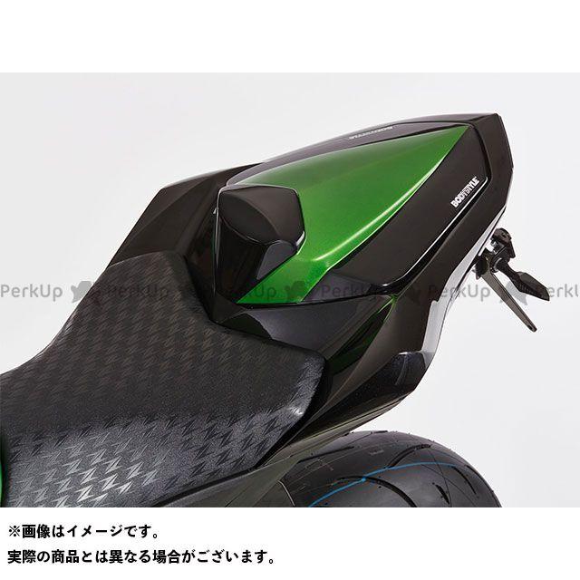 ボディースタイル Z800 カウル・エアロ シートカバー KAWASAKI Z800e 2013-2015 グリーン/ブラック BODY STYLE