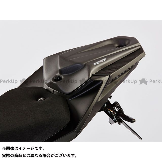 ボディースタイル MT-125 カウル・エアロ シートカバー YAMAHA MT-125 2014-2018 ブルー BODY STYLE