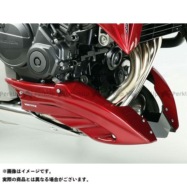 ボディースタイル ホーネット600 カウル・エアロ ベリーパン HONDA CB600 Hornet 2007-2010 ブラック BODY STYLE