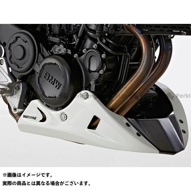 ボディースタイル F800R カウル・エアロ ベリーパン BMW F 800 R 2009-2014 ホワイト BODY STYLE