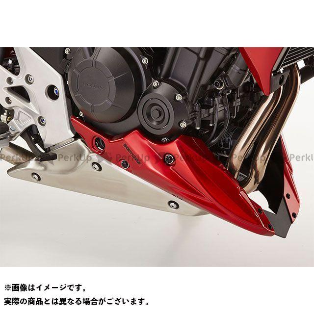 ボディースタイル CB500F CB500X カウル・エアロ ベリーパン HONDA CB500F/X 2013-2018 レッド BODY STYLE