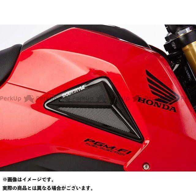 ボディースタイル グロム カウル・エアロ ラジエーターサイドカバー HONDA MSX125 2013-2015 ブラック BODY STYLE
