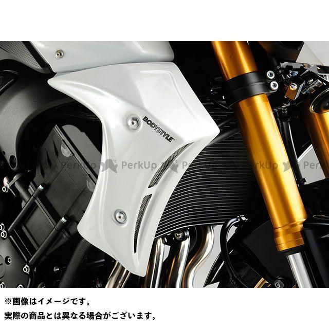 ボディースタイル FZ8 カウル・エアロ ラジエーターサイドカバー YAMAHA FZ8 2010-2013 ホワイト BODY STYLE