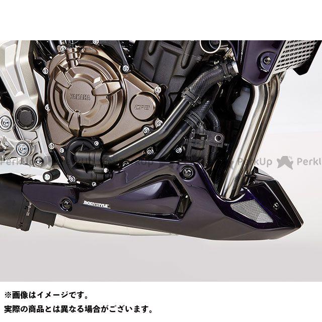 ボディースタイル MT-07 MT-07 モトケージ カウル・エアロ ベリーパン YAMAHA MT-07 2014-2018 / Motocage 2015-2017 / Tracer 700 2016-2018 マットグレー BODY STYLE