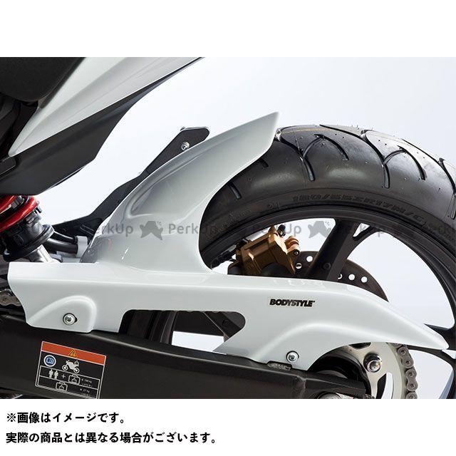 【エントリーで最大P21倍】ボディースタイル CBR600F フェンダー リアハガー HONDA CBR600F 2011-2013 ホワイト BODY STYLE