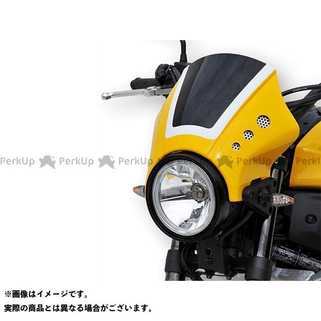 ボディースタイル XSR700 ヘッドライト・バルブ ヘッドライトカバー YAMAHA XSR700 2016-2018 未塗装 BODY STYLE