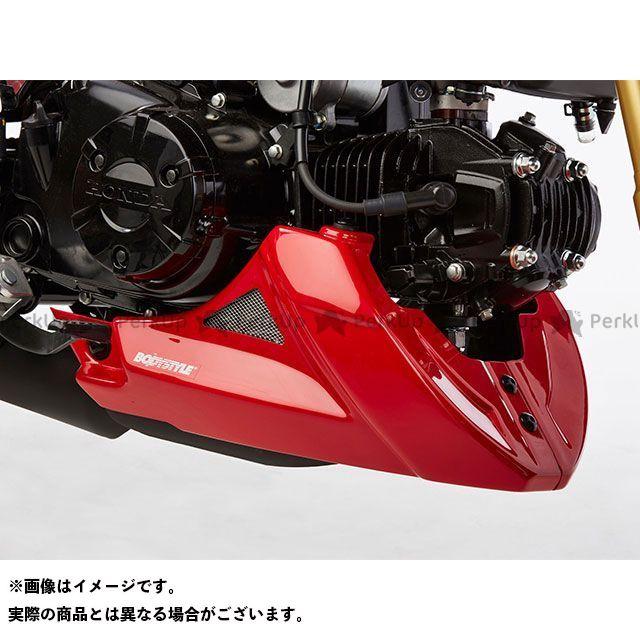 ボディースタイル グロム カウル・エアロ ベリーパン HONDA MSX125 2016-2018 マットグレー BODY STYLE