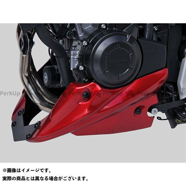 ボディースタイル CB500X カウル・エアロ ベリーパン HONDA CB500X 2017 レッド BODY STYLE
