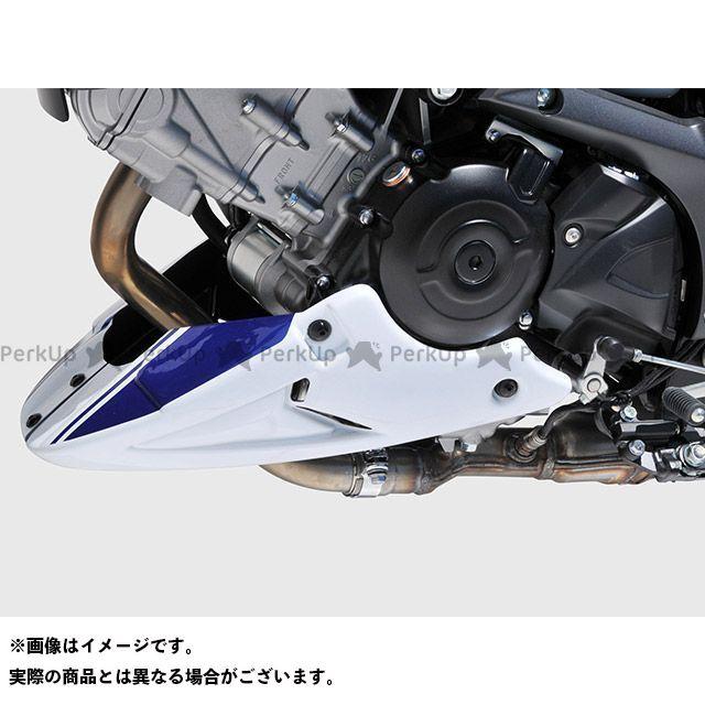 ボディースタイル SV650 カウル・エアロ ベリーパン SUZUKI SV 650 2016-2017 ホワイト/ブルー BODY STYLE