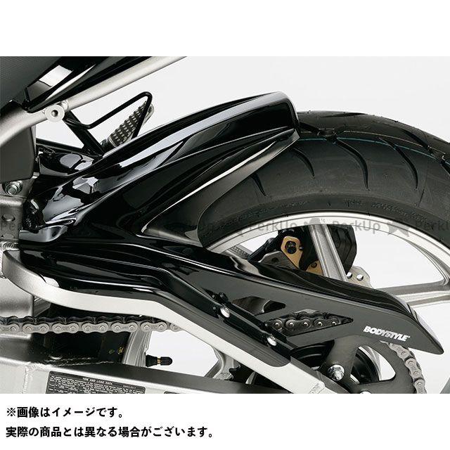 送料無料 ボディースタイル ヴェルシス650 フェンダー リアハガー KAWASAKI Versys 650 2007 / Versys 650 2012 ブラック