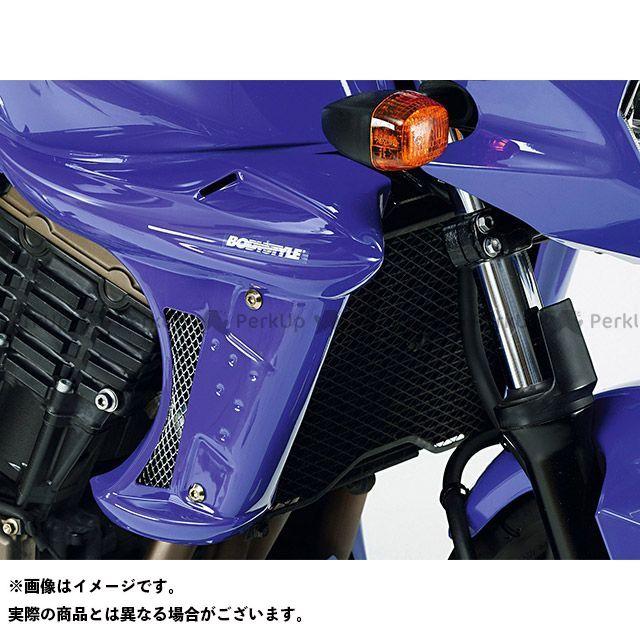 ボディースタイル Z750 カウル・エアロ ラジエーターサイドカバー KAWASAKI Z750 2004-2006 未塗装 BODY STYLE