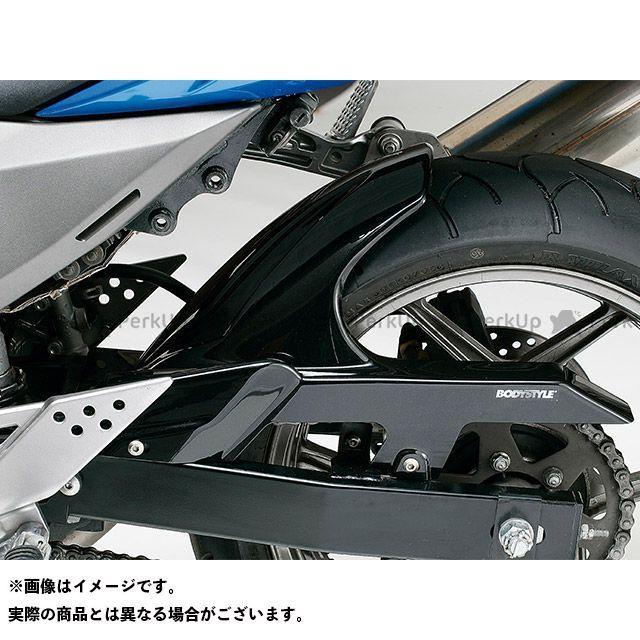 【エントリーで最大P21倍】ボディースタイル Z750 Z750S フェンダー リアハガー KAWASAKI Z750 2007-2012 / Z750S 2005-2006 ブラック BODY STYLE