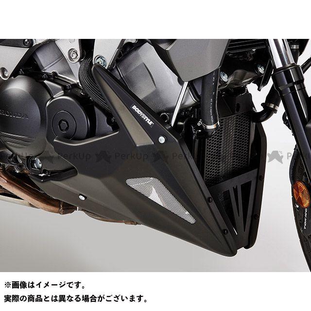 送料無料 ボディースタイル VFR800X クロスランナー カウル・エアロ ベリーパン HONDA VFR800X Crossrunner 2015-2016 マットブラック