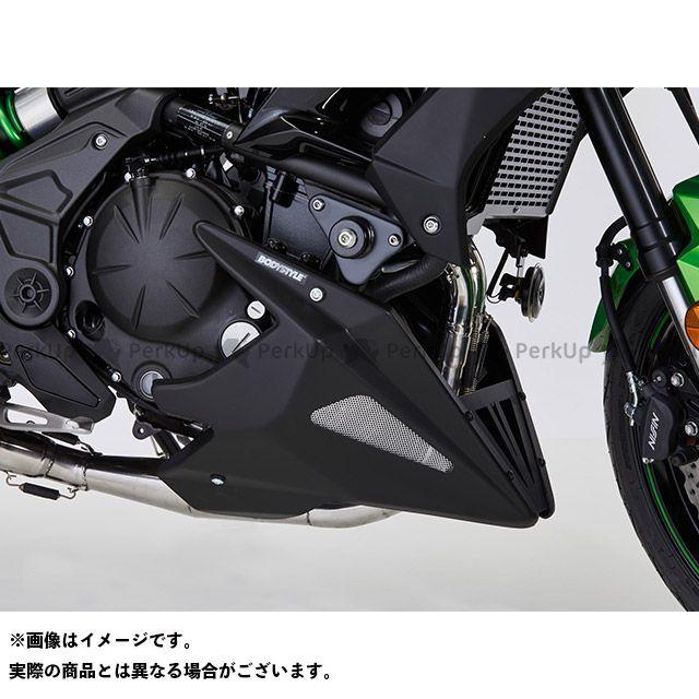ボディースタイル ヴェルシス650 カウル・エアロ ベリーパン KAWASAKI Versys 650 2010-2016 マットブラック BODY STYLE