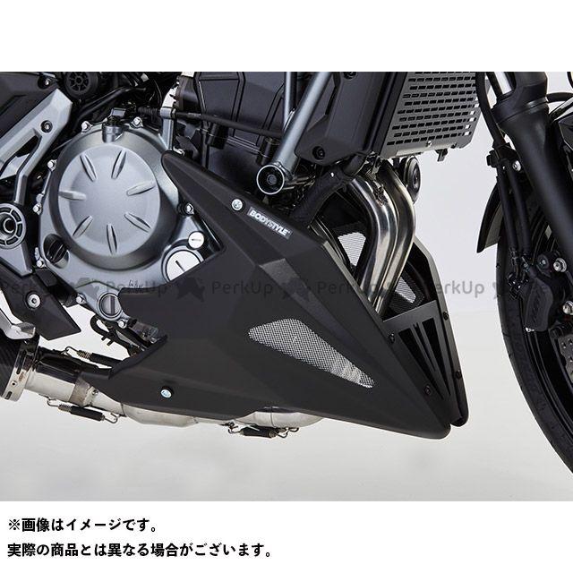 ボディースタイル Z650 カウル・エアロ ベリーパン KAWASAKI Z650 2017-2018 マットブラック BODY STYLE