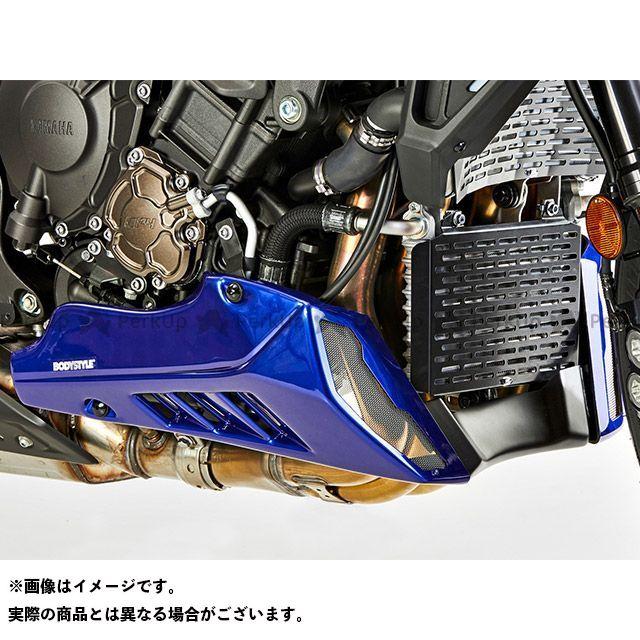 ボディースタイル MT-10 カウル・エアロ ベリーパン YAMAHA MT-10 2016-2018 ブルー BODY STYLE
