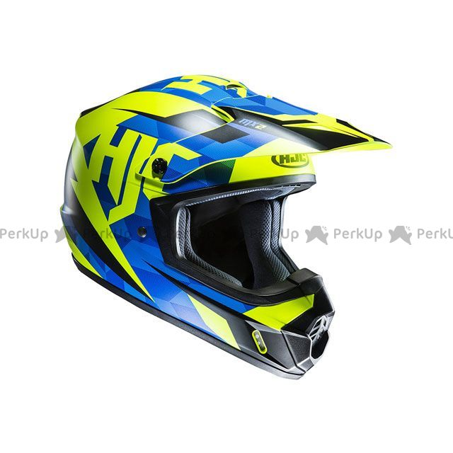 送料無料 HJC エイチジェイシー オフロードヘルメット HJH144 CS-MX2 ダコタ(ブルー) L/59-60cm