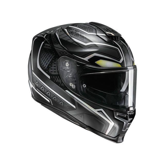 エイチジェイシー フルフェイスヘルメット HJH140 MARVEL RPHA 70 ブラックパンサー サイズ:XL/61-62cm未満 HJC